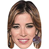 Aida Yespica (Smile) Celebrity Mask, Card Face and Fancy Dress Mask