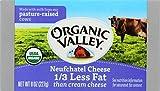 ORGANIC VALLEY: Organic Neufchatel Pasteurized Cream Cheese, 8 oz