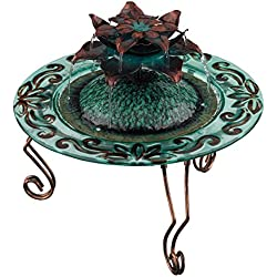 Regal Art & Gift Copper Lotus Fountain, 12-Inch