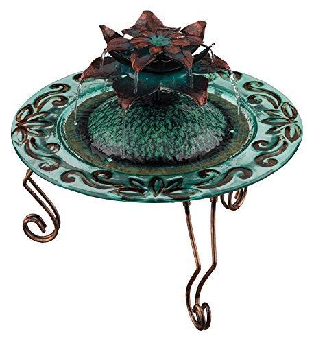 Regal Art &Gift Copper Lotus Fountain, 12-Inch