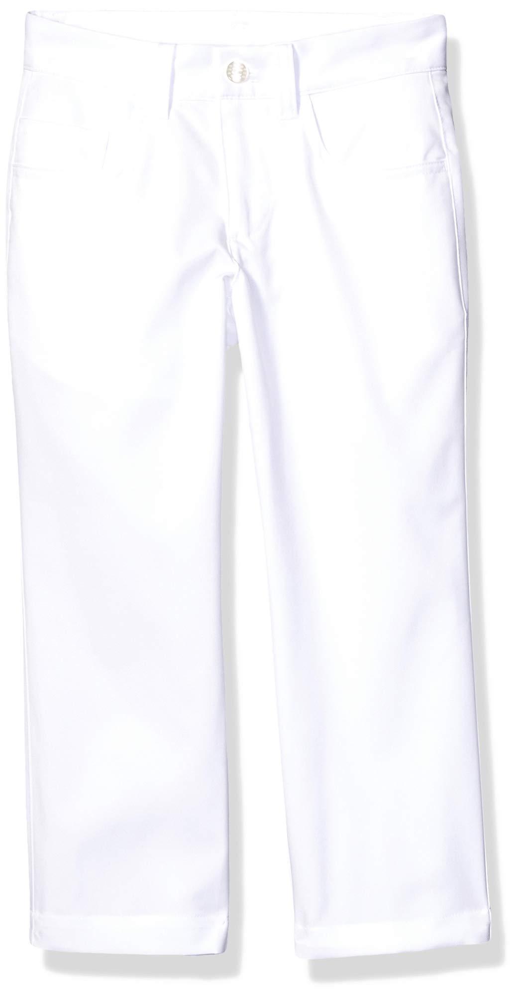 Puma Golf 2019 Boy's 5 Pocket Pant, BRIGHT WHITE, Medium by PUMA