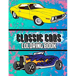 Classic Cars Coloring Book (Cars Coloring Books)
