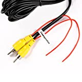 RCA-Video-CableChuanganzhuo-CAR-Reverse-Rear-View-Parking-Camera-Video-Cable-With-Detection-Wire-10-M33-FT