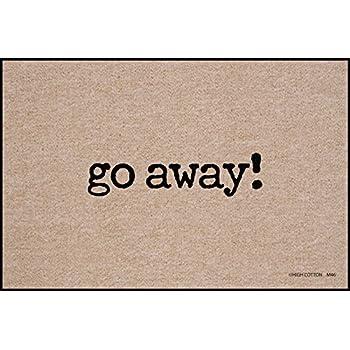 High Cotton Go Away Doormat