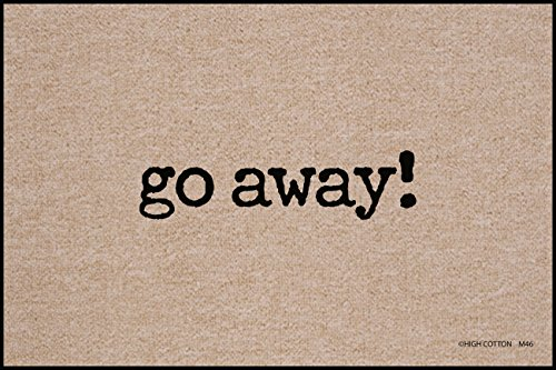 Go Away Indoor/Outdoor Doormat