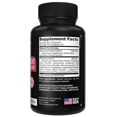 Nutrisage Libido Enhancer For Kvinder Avanceret Female-6023