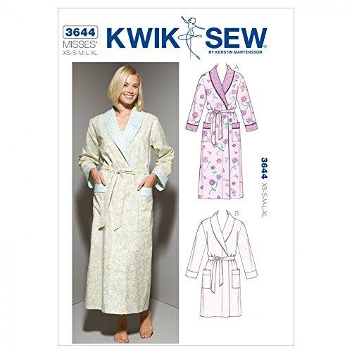 Kwik Sew Ladies Sewing Pattern 3644 Dressing Gown Robes