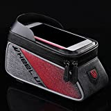 Bike Phone Bag Waterproof Bike Bag with Ultra Sensitive Screen And Reflective Strip for Cycling Enthusiast