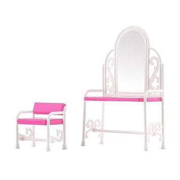 Fuuny Creative Design Bébé Filles Jouets Dressing Table Et Chaise