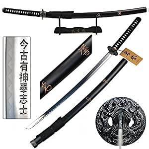 Japanese Samurai Display Sword, Katana, Honor w/ Free Stand with Inscription