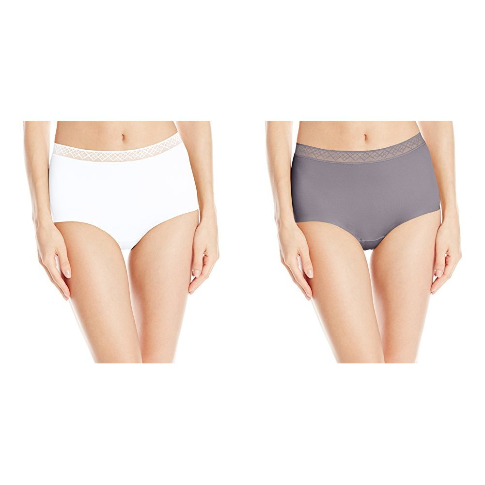 9d9951e43c9 Vassarette Women s Invisibly Smooth Brief Panty 13383 at Amazon Women s  Clothing store