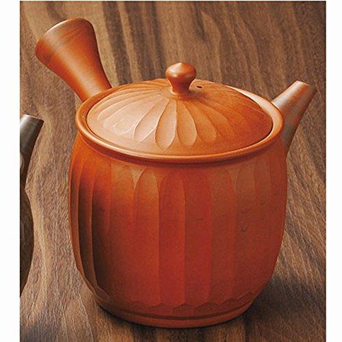 Japanese ceramic Tokoname ware. Kyusu teapot. 380cc