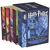 Harry Potter Boxset Pb 1-5