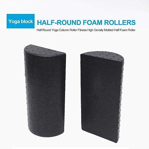 High Density Floating Point Yoga Pilates Fitness Gym Foam Roller Massage Blue