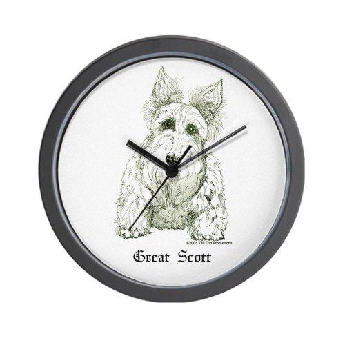 CafePress Great Scott Wall Clock