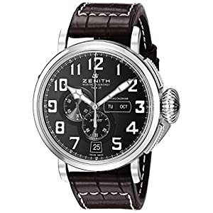 Zenith Men's 0324304054.21C Pilot Analog Display Swiss Automatic Brown Watch