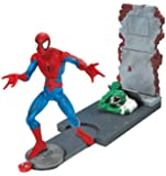 """Toy Biz World Wide Spider-Man: 6"""" Shoot 'N Trap Spider-Man Action Figure"""