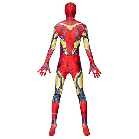 4 Vengadores: Iron Man Traje de Cosplay Siameses Cabritos de Las ...