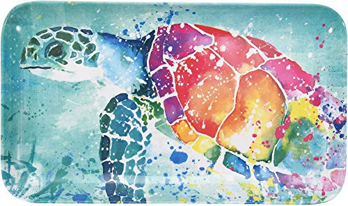 Tropix Splash Sea Turtle Tidbit Tray One Size Blue/pink/orange/yellow