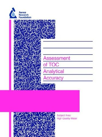 Assessment of Toc Analytical Accuracy (Awwarf Report S)