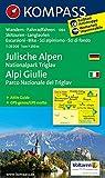 Julische Alpen - Alpi Giulie: Wanderkarte mit Aktiv Guide, alpinen Skirouten, Loipen und Radrouten. GPS-genau. 1:25000 (KOMPASS-Wanderkarten, Band 64)