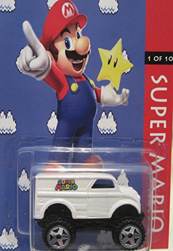 """Hot Wheels CUSTOM MONSTER DAIRY DELIVERY """"Super Mario"""" Limit"""