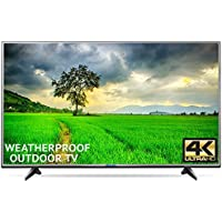 Outdoor TV 49 Fully Weatherproof Ultra HD 4K Smart All Weather LED Television - by Sealoc