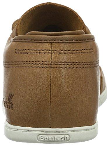 Boxfresh Sparko ICN Lea Lin/TPE Herren Sneaker Braun (Lin/TPE)