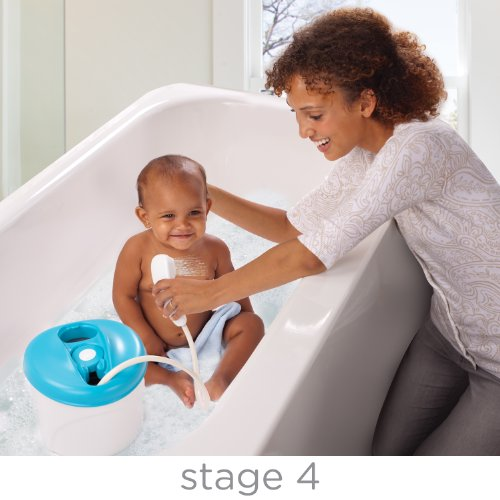 Puj Tub - The Soft, Foldable Baby Bathtub - Newborn, Infant, 0-6 Months, in-Sink Baby Bathtub, BPA Free, PVC Free (White)