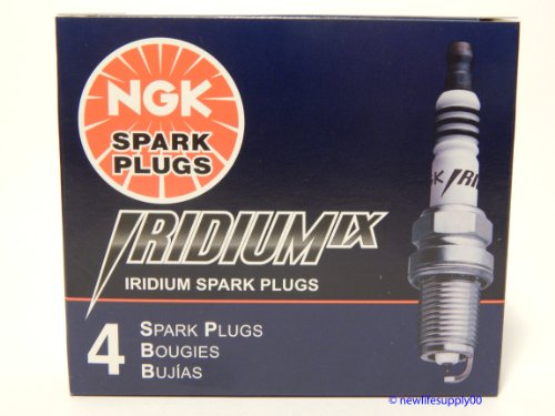 NGK # 2202 Iridium Spark Plugs DPR8EIX-9 ---- 4 PCS * NEW * ()
