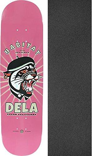 動揺させるアデレードシェアHabitatスケートボードブライアン?Delatorreセルロイドスケートボードデッキ – 8.12インチx 31.38