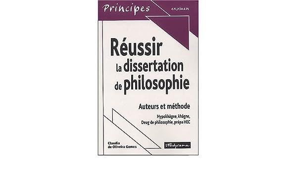 méthodologie dissertation hypokhagne