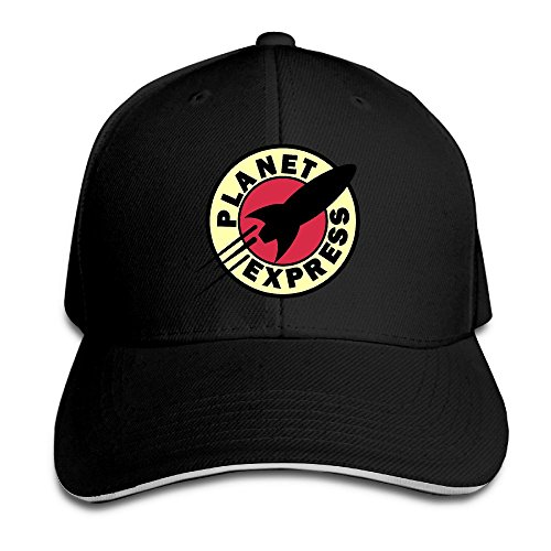 sunny-fish6hh-unisex-adjustable-planet-express-baseball-caps-hat-one-size-black