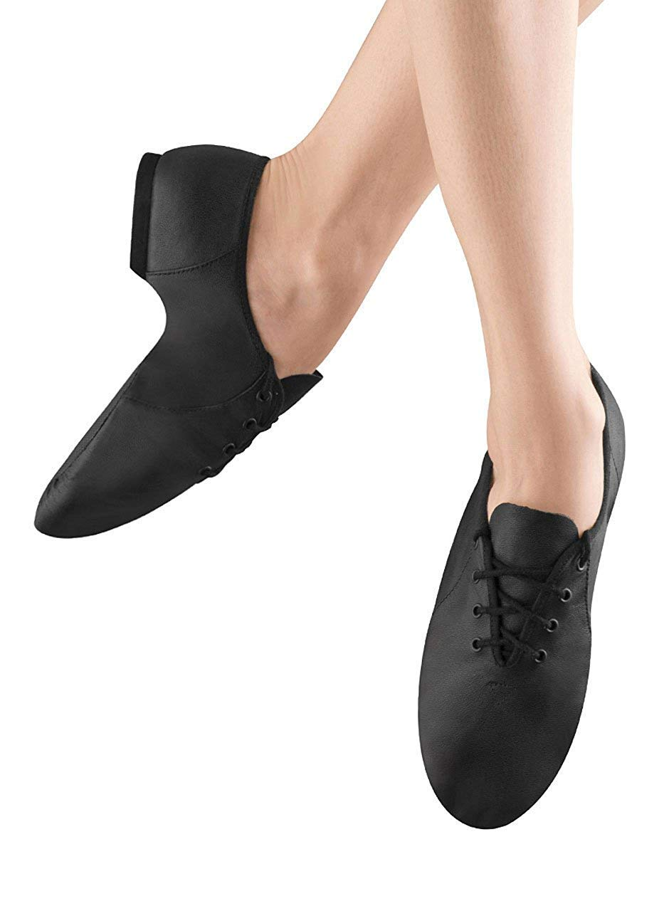 Leather Lace Up JazzSoft Dance Shoes Bloch S0405G Tan Child 11.5M fit size 11