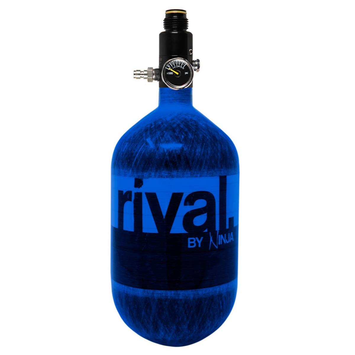 Ninja Rival Paintball Compressed HPA Air Tank (Blue) by Ninja Paintball