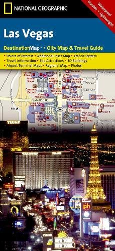 Las Vegas (National Geographic Destination City Map)