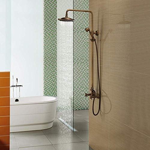 BXU-BG 実用的なシャワーをタップ蛇口セット銅製家庭シャワー配管ハードウェアのシャワー蛇口セット美しいです