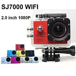 PANMARI Nueva SJ7000 WiFi Full HD 1080P 12MP cámara de la