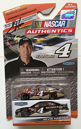 2014-kevin-harvick-signed-outback-steakhouse-1-64-diecast-nascar-authentics-car-autographed-diecast-