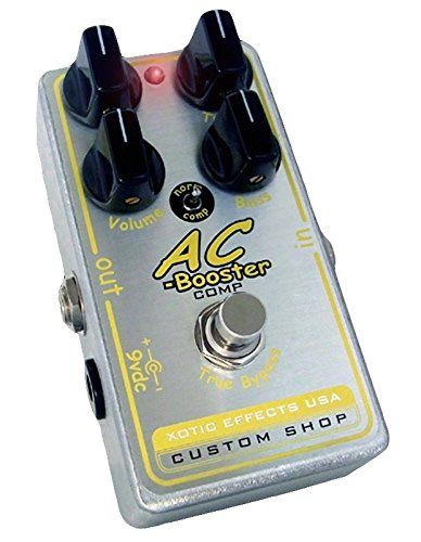 Effects Xotic Booster Ac (Xotic Custom Shop AC Comp Boost Overdrive Pedal)