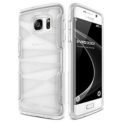 Amazon.com: Galaxy S7 Edge CASE, VRS diseño [Shine Guardia ...