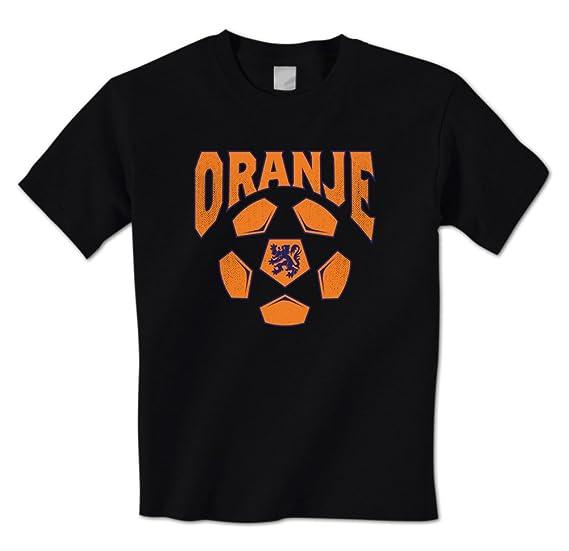 3d25a789a Oranje - Soccer Ball Netherlands Football Soccer Team Dutch Pride Mens T- Shirt Small Black