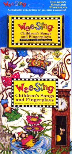 Wee Sing Children's Songs and Fingerplays book and cassette(reissue)