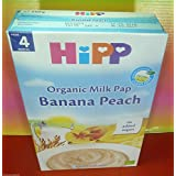 Hipp Banana Peach Organic Milk Pap 250 g From 4th month