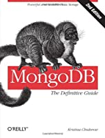 MongoDB: The Definitive Guide, 2nd Edition Front Cover