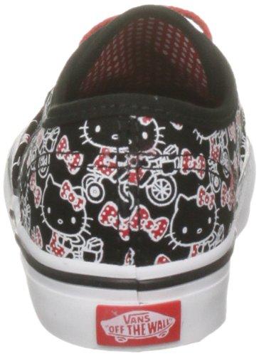 Sneaker Nero true White Unisex black Bambino Authentic T Blk Kitty Vans hello schwarz xSwFRR