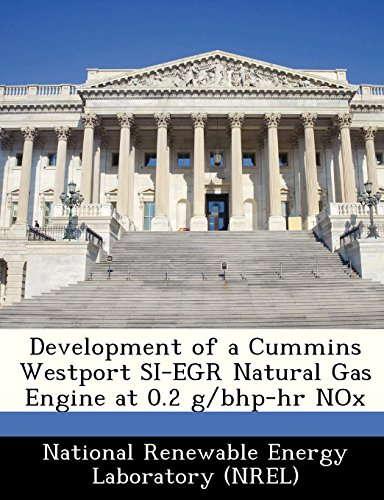(Development of a Cummins Westport SI-EGR Natural Gas Engine at 0.2 g/bhp-hr)