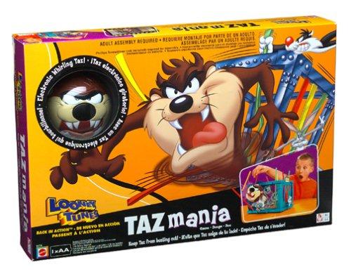 Looney Tunes Taz Mania Spiel by Mattel