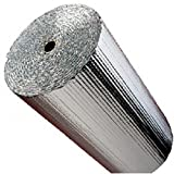 IES 48'' x 25' Double Bubble Reflective Foil Insulation Thermal Barrier R8