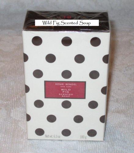 WILD FIG Scented Bar of Soap Henri Bendel 6.3 oz Bath & Body Works (Wild Bendel Fig Henri)